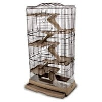 Ware Clean Living 6 Level Chinchilla / Ferret Cage Multi-Colored - Walmart.com