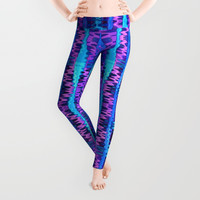 Glitch No. 6 Leggings by Lyle Hatch