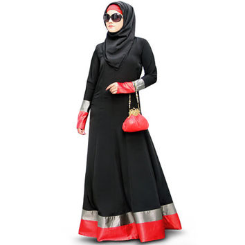 Aroob Black Abaya AY-335 Islamic Hijab Clothing Burka| Formal and Occasion Wear| Muslim Dress Burqa