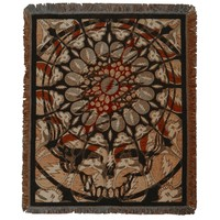 Grateful Dead - Steal Your Face Batik Throw