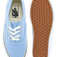 Vans | Vans Authentic Pale Blue Trainers at ASOS