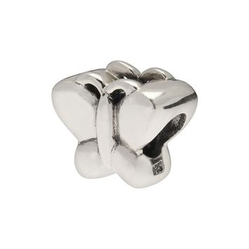 Individuality Beads Sterling Silver Butterfly Bead (Grey)
