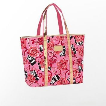 Sparkle Tote - Alpha Omicron Pi - Lilly Pulitzer