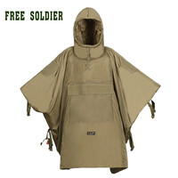 outdoor sports climbing camping riding tactical cloak warm cotton cloak men's sleeping bag thicken cloak FREE SOLDIER