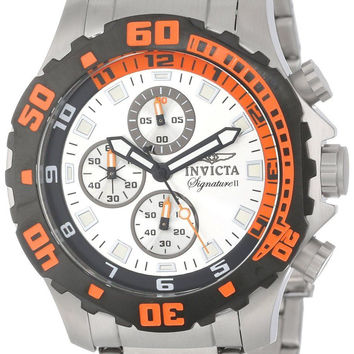 Invicta 7334 Signature-II Chronograph Mens Stainless Steel Watch