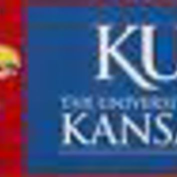 KU Kansas Jayhawks Metal Car Tag License Plate