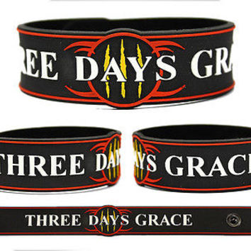 THREE DAYS GRACE Rubber Bracelet Wristband Transit of Venus