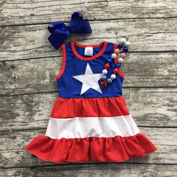 Fourth Of July Big Star Dress