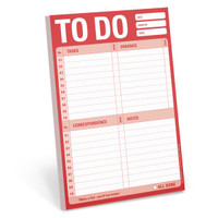 To Do Notepad for Daily Task List by Knock Knock - knockknockstuff.com