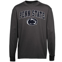 Penn State Nittany Lions Midsize Long Sleeve T-Shirt - Charcoal