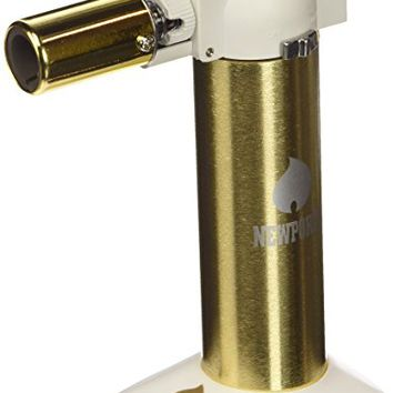 "Newport Zero 6"" Butane Torch - Gold and White"