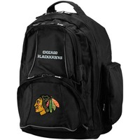 Chicago Blackhawks Black Trooper Backpack