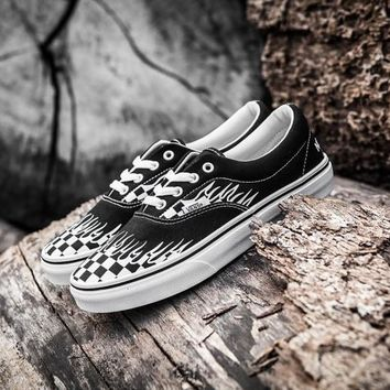 Beauty Ticks The North Face X Thrasher X Vans Skateboarding Shoes 35-44