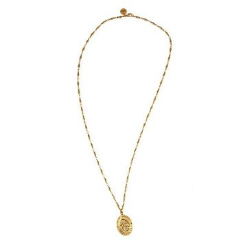 Alex and Ani Saint Joseph Necklace - Russian Gold