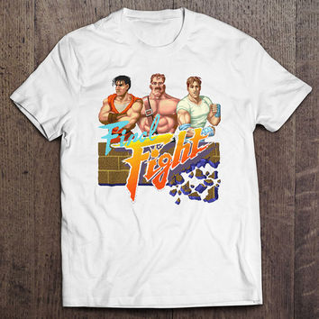 Final Fight Guy Haggar Cody Men's Video Game T-shirt