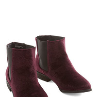 ModCloth Show and Velvet Bootie