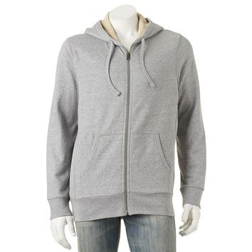 SONOMA life + style Sherpa-Lined Full-Zip Hoodie - Men SONOMA life + style Sherpa-Lined Full-Zip Hoodie - Men