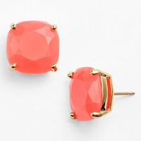 Women's kate spade new york small square stud earrings - Geranium