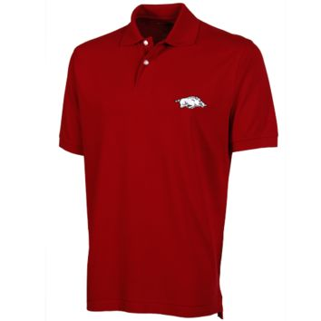 Arkansas Razorbacks The Razorback Collection Jersey Polo - Cardinal