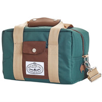 Poler: Camera Cooler Bag - Green / Tan