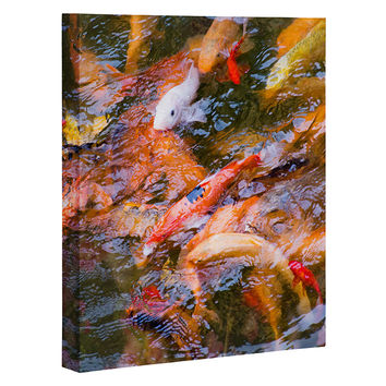Catherine McDonald Ornamental Carp Art Canvas