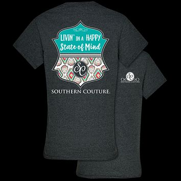 Southern Couture Preppy Happy State of Mind T-Shirt