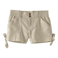 Mudd Side-Tie Soft Shorts - Girls' Plus, Size:
