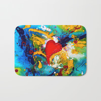 Passion Bath Mat by mariameesterart