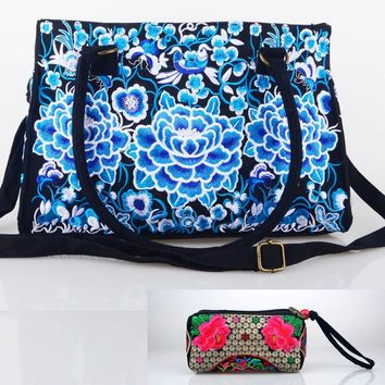 Ethnic Embroidered Shoulder Bags