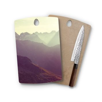 Filter Mountains Rectangle Cutting Board Trendy Unique Home Decor Cheese Board