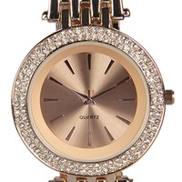 Bella Diamante Face Boyfriend Watch