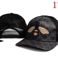 ONETOW GUCCI embroidery Strap Cap Adjustable Golf Snapback Baseball Hat