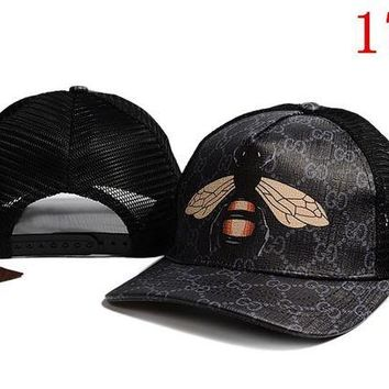 DCCKUN2 GUCCI embroidery Strap Cap Adjustable Golf Snapback Baseball Hat