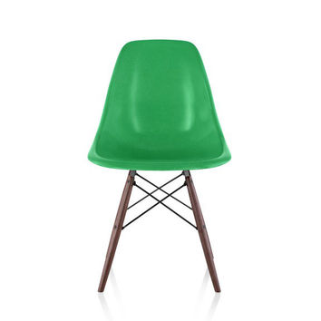 Herman Miller Eames® Molded Fiberglass Side Chair Dowel Base