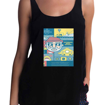 The Life Aquatic with Steve Zissou Tank Top for man, woman S / M / L / XL / 2XL / 3XL*AD*