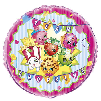 Shopkins 18 inch Foil Balloon