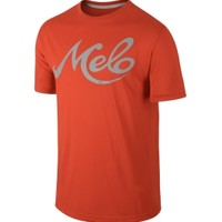 Jordan Men's Melo 10 Years Reflective Graphic T-Shirt