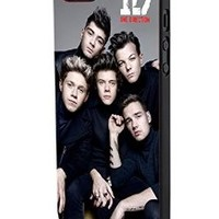 One Direction Cool Photo Shoot Iphone 5/5s Black