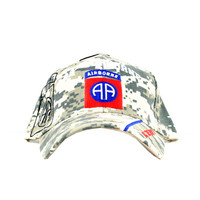 US Army 82nd Airborne Camo ball cap with shadow AA