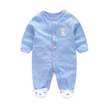 Baby clothing ! 2018 new born baby clothes newborn - 1 years old ropa baby girl romper 100% cotton baby costume