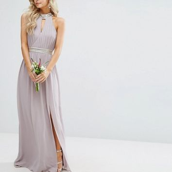 TFNC Petite Wedding Maxi Dress With Embellishment at asos.com