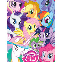My Little Pony Group Collage Poster