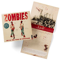 Zombies: The Year of Infection Calendar