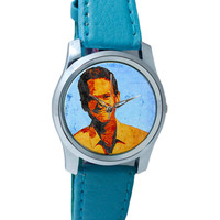 Neil Patrick Harris Inspired Fan Art Wrist Watch