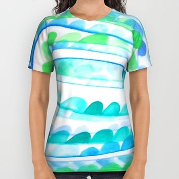 Sea Festival All Over Print Shirt by DuckyB (Brandi)