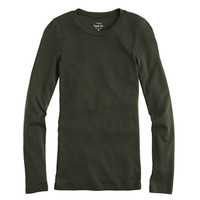 Perfect-fit long-sleeve tee - perfect-fit tees - Women's knits & tees - J.Crew