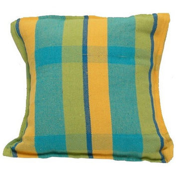 Brazilian A501MB Mustard Blue Hammock Pillow