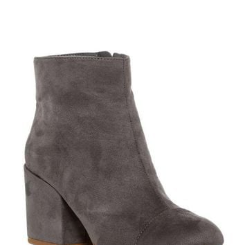 Charles By Charles David | Quincy Faux Suede Block Heel Bootie