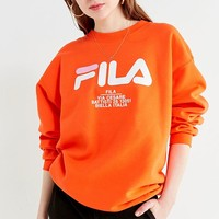 FILA + UO Crew-Neck Sweatshirt | Urban Outfitters