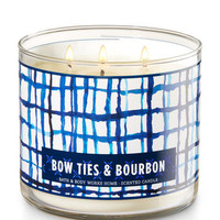 Bow Ties & Bourbon 3-Wick Candle | Bath And Body Works